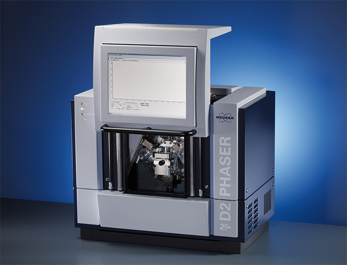 BD2 PHASER diffractometer with LYNXEYE